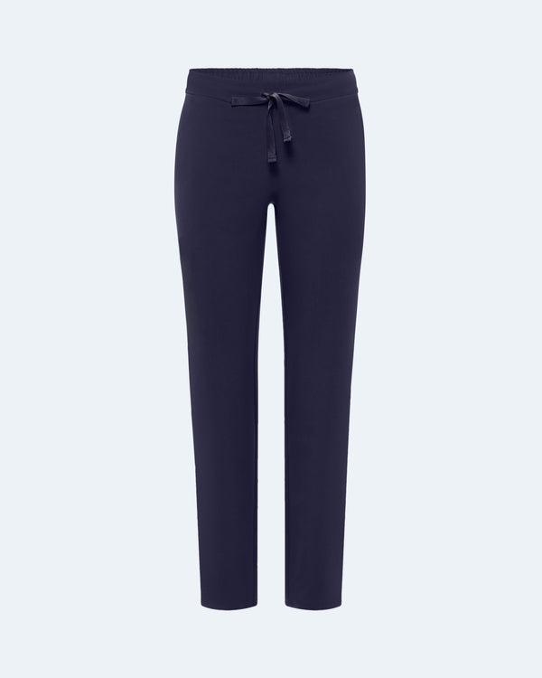 Straight Leg Scrub Pants Navy
