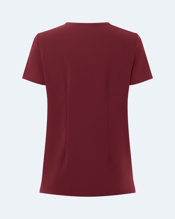Nishkama - Four Pocket Scrub Top Wine