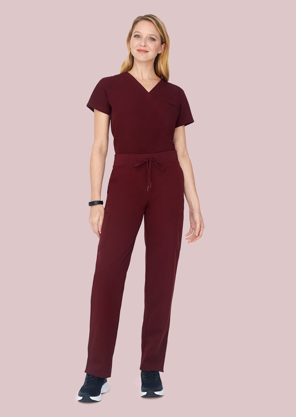 9 Pocket Cargo Pants Wine