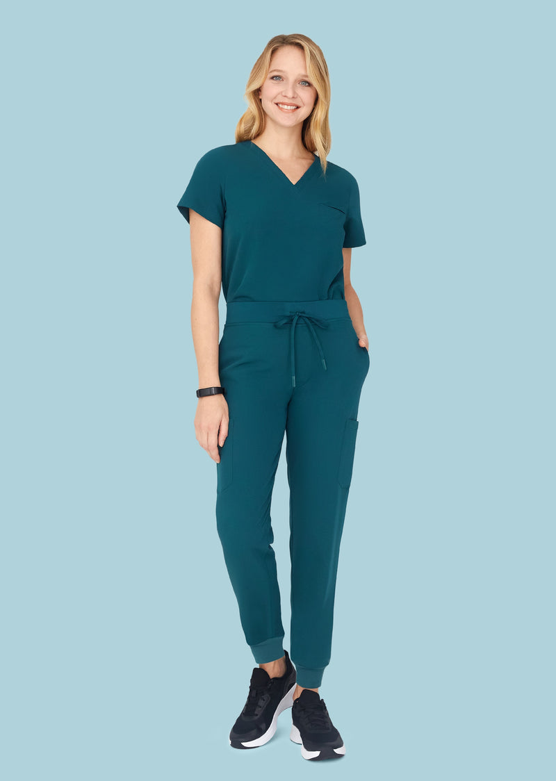 One Pocket Top Caribbean Blue