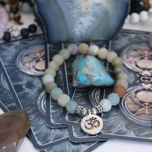 Load image into Gallery viewer, Amazonite Charm Bracelet