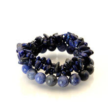 Load image into Gallery viewer, Lapis Lazuli - Bracelet Set