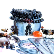 Load image into Gallery viewer, Lava Stone Mala - Oil Diffuser