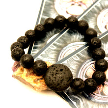 Load image into Gallery viewer, Lava Stone - Basalt Oil Diffuser Bracelet