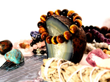 Load image into Gallery viewer, Tiger Eye Bracelet 12mm Beads