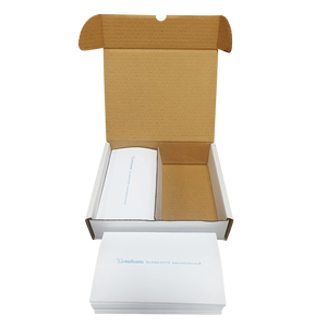 1000 FP Mailing Postbase Mini Long Double Sheet Franking Labels (175MM)