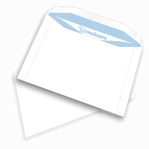 500 White C5+ Non Windowed Gummed Envelopes (162mm x 235mm)