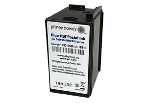 Pitney Bowes SendPro+ Original Blue Ink Cartridge