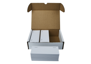 500 FP Mailing Postbase Econ Single Cut Franking Labels
