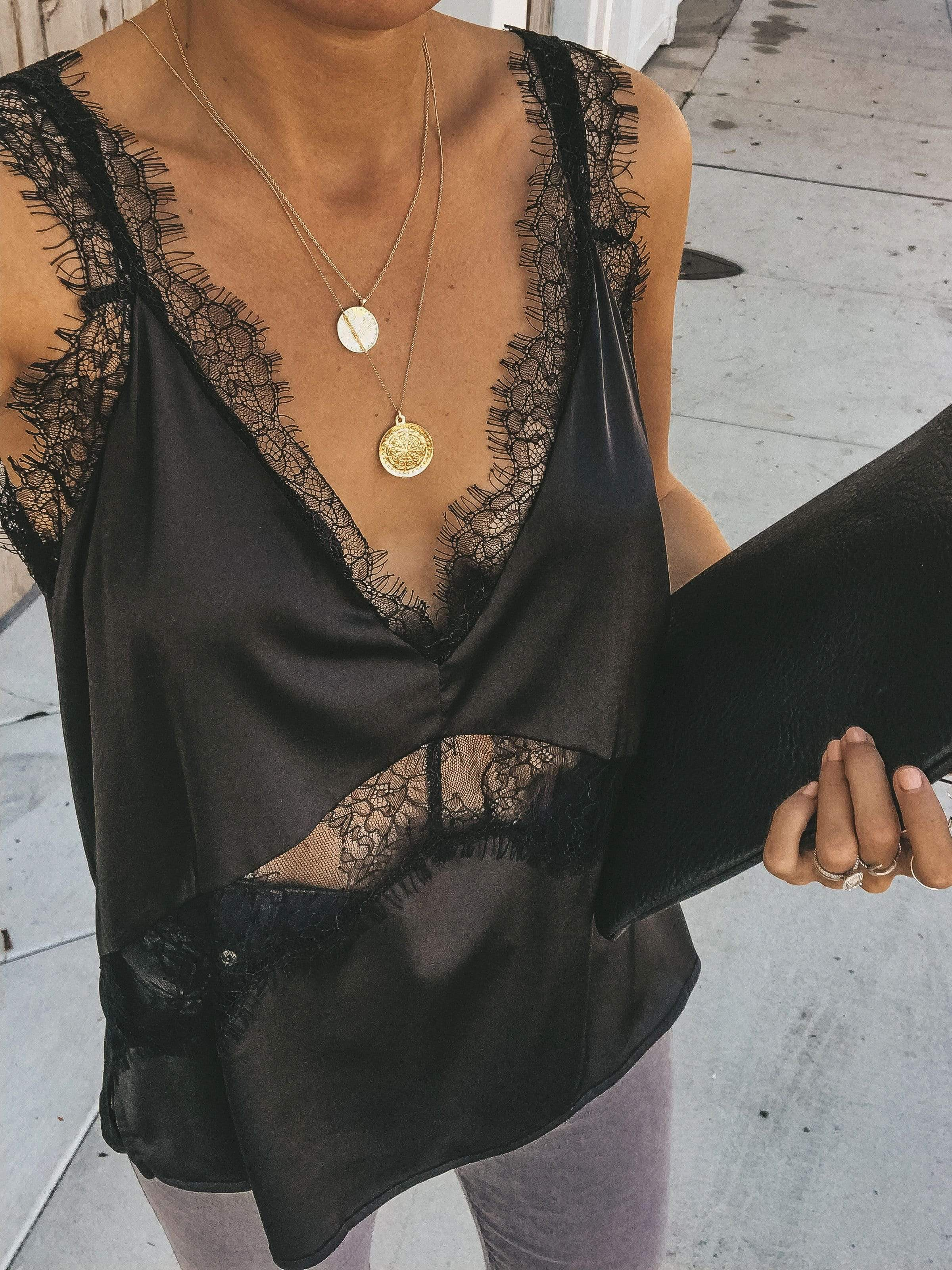 Fashion Sexy Lace VEST