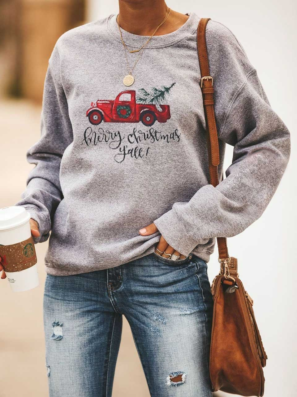 Women's  Christmas Casual Sweatshirt