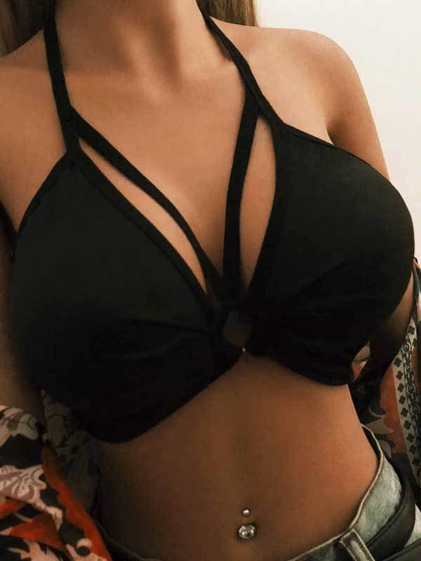 Fashion Sexy Black Underwear