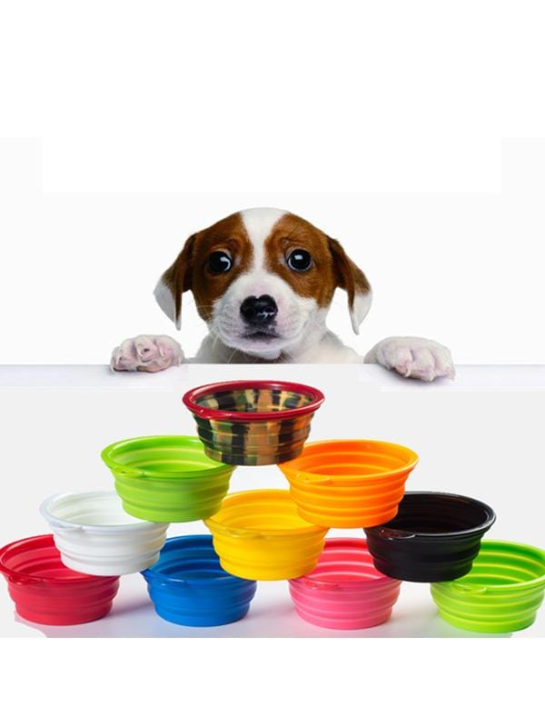 Silicone Folding Outdoor Travel Pet Bowl