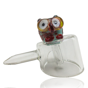 Empire Glassworks Baby Owl Carb Cap