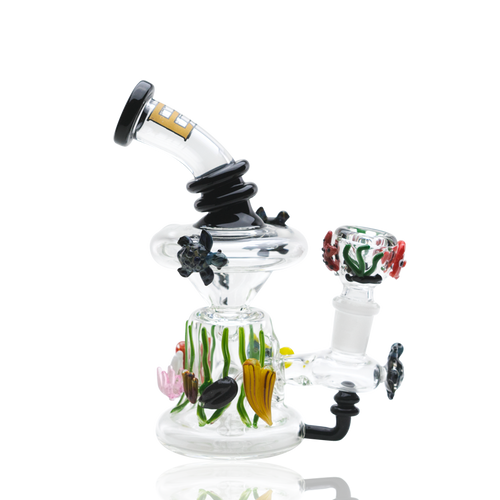 Empire Glassworks E.A.C. Mini Recycler Water Pipe