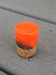 Biohazard Orange Sax Spy End Plug