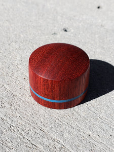 Bloodwood Inlay Reed Block by Sax Spy