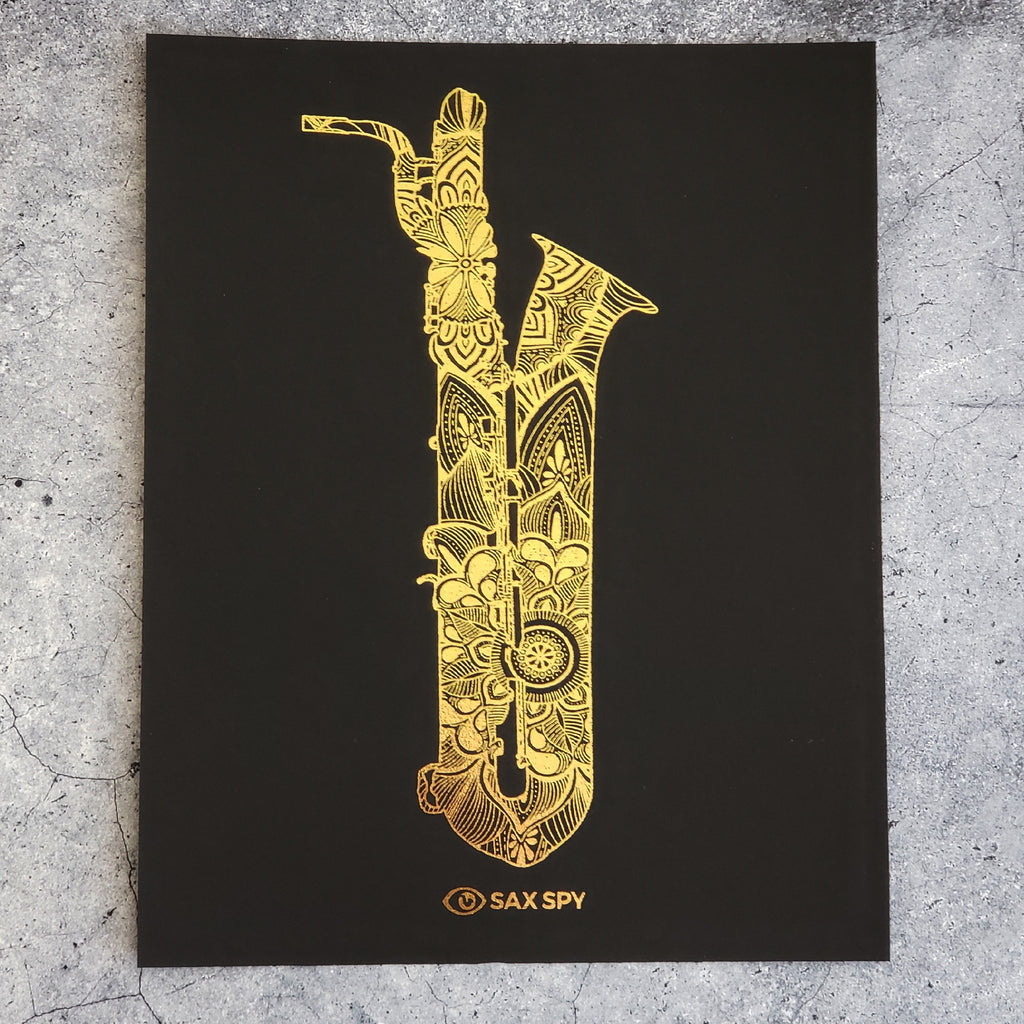 Sax Spy Art Prints - Selmer Mark VI