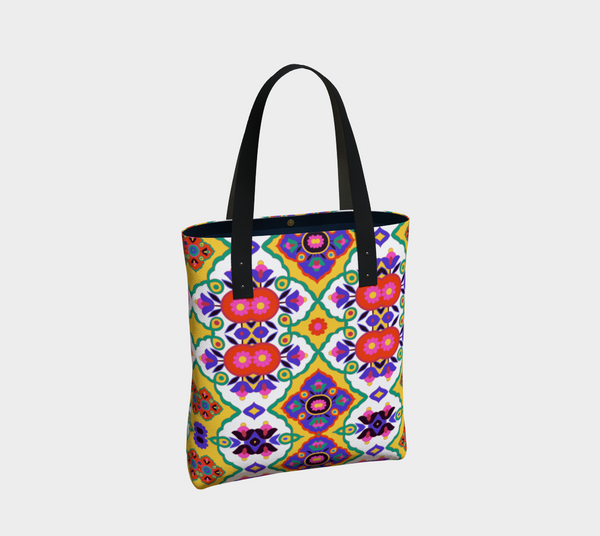 BollyDoll Spring Floral Tote