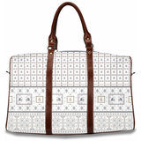Wildflower White Travel Bag