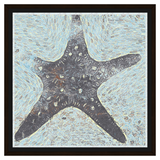 Tattered Starfish On Water and Oil
