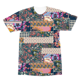 Flower Power Premium Sublimation Adult T-Shirt