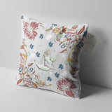 Amla Vines and Birds Decorative Pillow