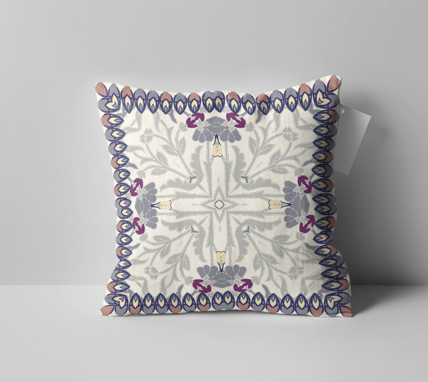 Boho Frame Double Sided Pillow