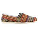 Indian Square Bubble Main Print Casual Shoe
