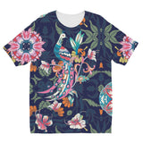 Amrita Sen Boho Flower Indigo Kids' Sublimation T-Shirt