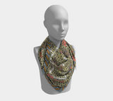BollyDoll Horses and Ropes Scarf