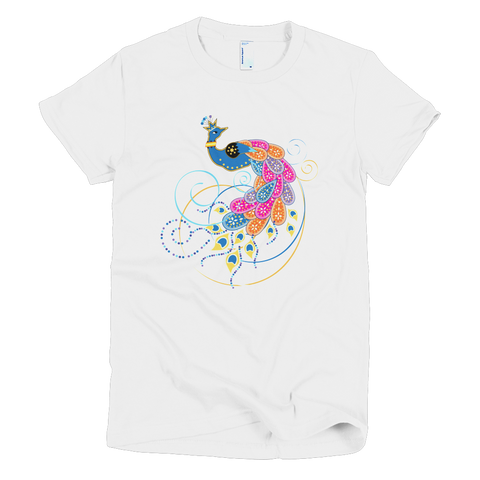 BollyDoll Summer Peacock Women's T