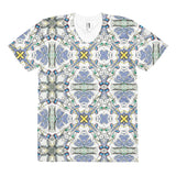 Awakened Blue Buddha Bowtie Women's T