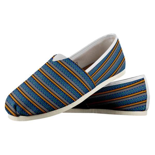 People blue and yellow Casual Shoe
