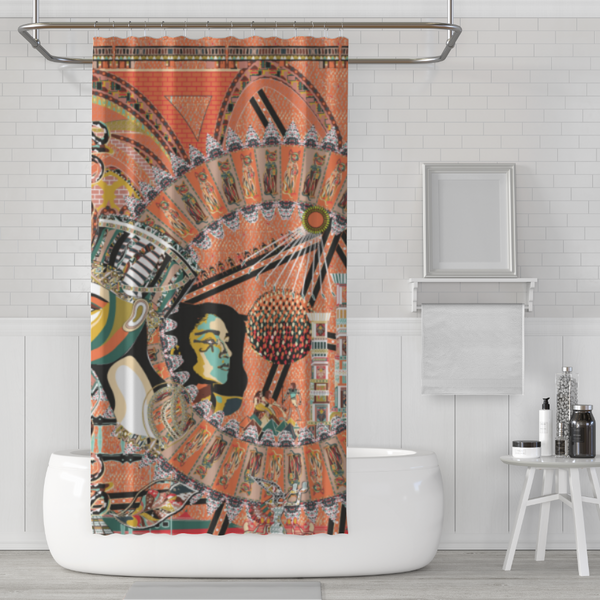 Wu Shower Curtain