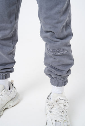 Wash Steel Blue  - Organic Joggers