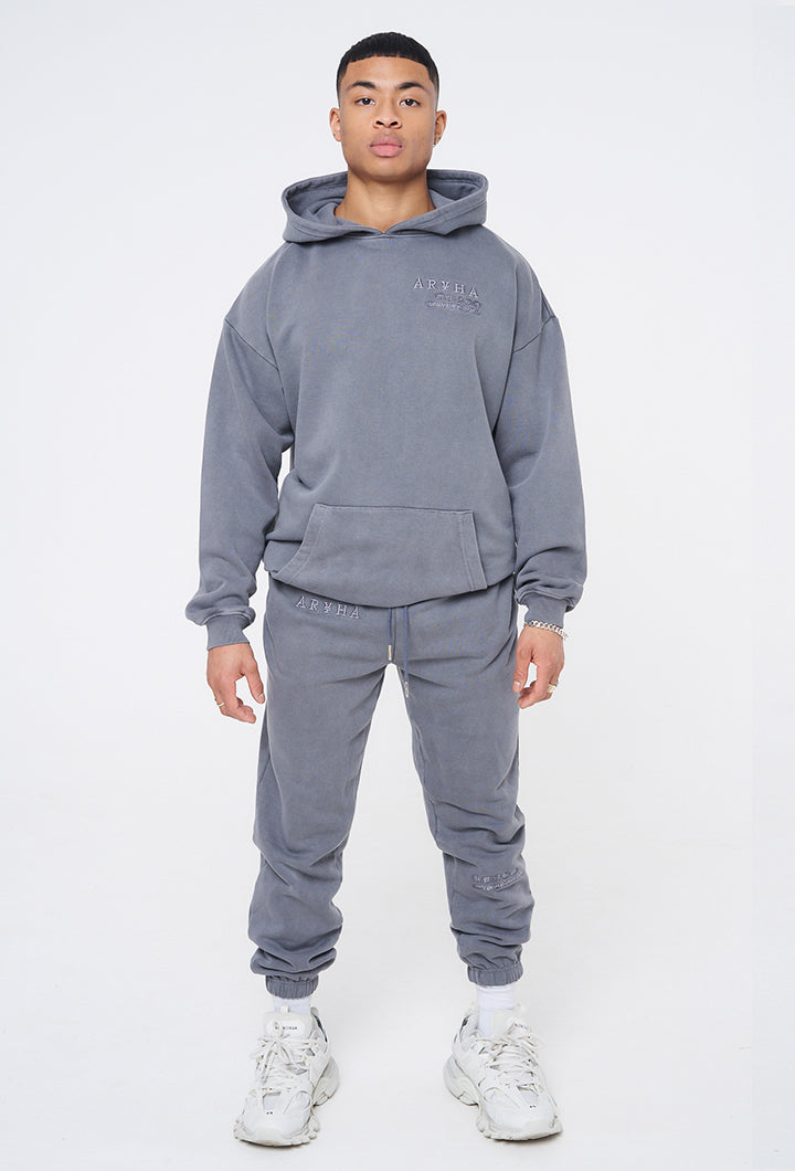 Wash Steel Blue - Organic Tracksuit