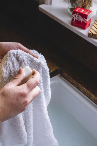ethique eco laundry stain removal bar
