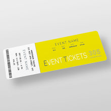 Load image into Gallery viewer, Event Tickets