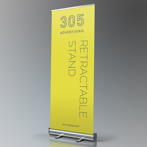 Retractable banner, custom printed banner roll up stand.