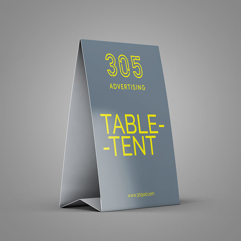 table tent 305 advertising co