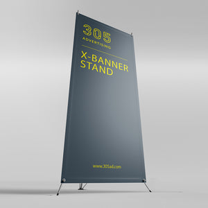 X-Stand Banner and Print
