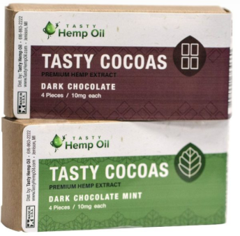 Hemp Edibles - Cocoa and Gummies