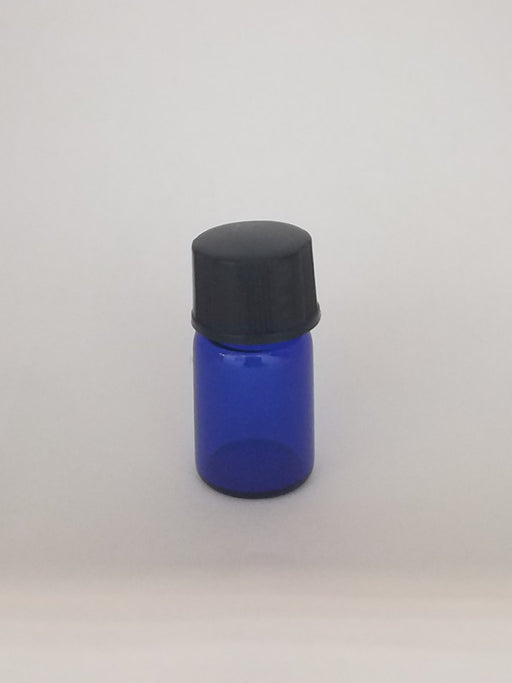Cobalt Blue Glass Bottles 2ml