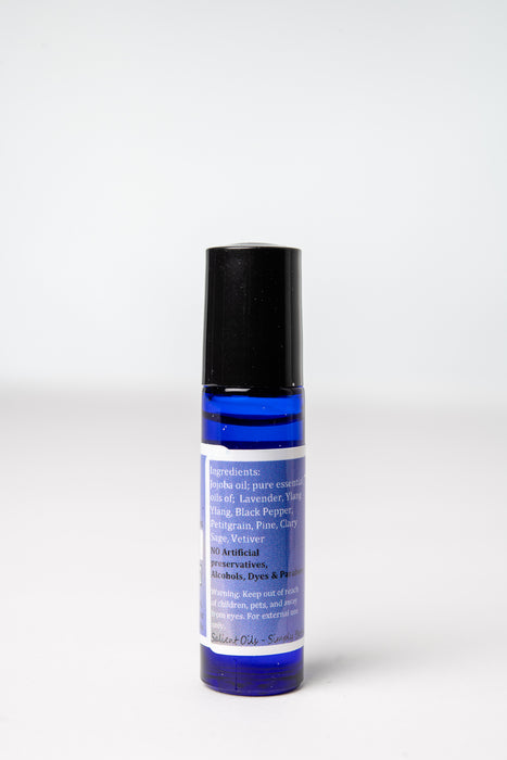 De-Stress Roll-on in jojoba Oil