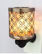 Salt Lamp Night Light & oils diffuser