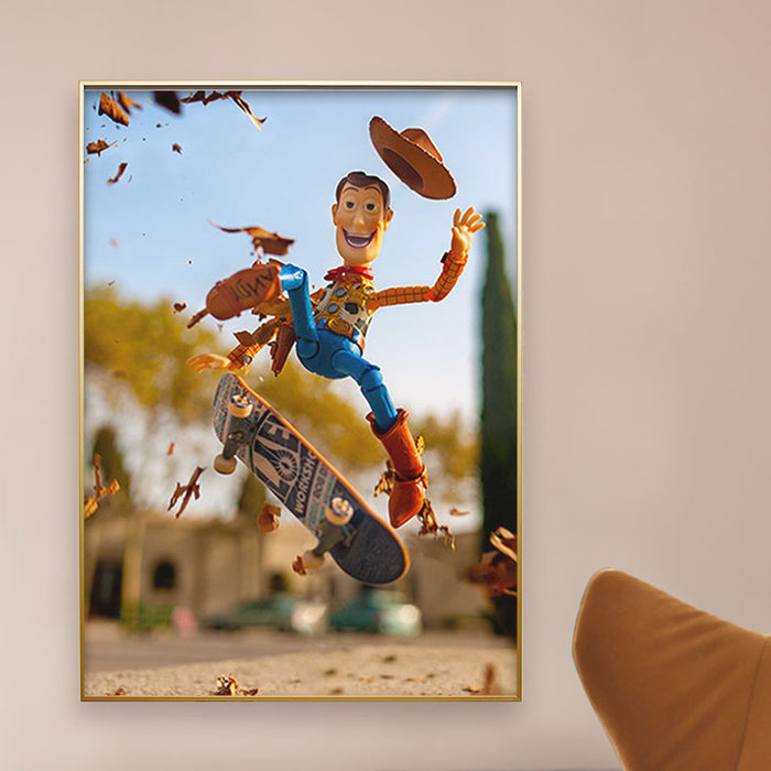 Wonderfactory. From Within. David Cubero. Woody. Toy Story.