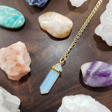 Load image into Gallery viewer, Opalite Necklace in Gold - Kind Gems
