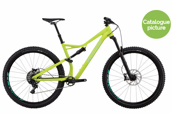 2018 Stumpjumper FSR Comp / 29 Yellow