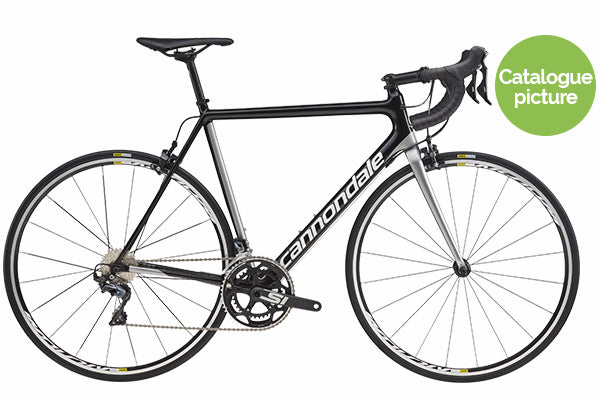 2018 SuperSix EVO Ultegra Compact - Black